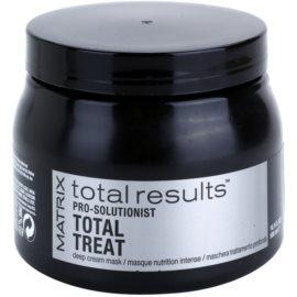 Matrix Total Results Pro Solutionist Maske mit ernährender Wirkung für beschädigtes, chemisch behandeltes Haar  500 ml