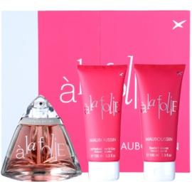 Mauboussin A la Folie Geschenkset I. Eau de Parfum 100 ml + Duschgel 100 ml + Körperlotion 100 ml