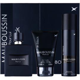 Mauboussin Mauboussin Pour Lui in Black Gift Set I. Eau De Parfum 100 ml + Shower Gel 100 ml + Deodorant Spray 150 ml