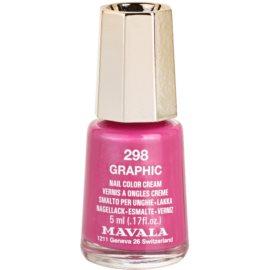 Mavala Spring Romance esmalte de uñas de larga duración tono 298 Graphic  5 ml