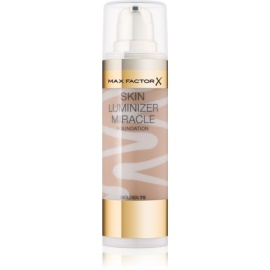 Max Factor Skin Luminizer Miracle make-up pentru luminozitate culoare 75 Golden 30 ml