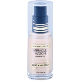 Max Factor Miracle Match Liquid Foundation With Moisturizing Effect Shade 30 Porcelain 30 ml