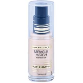 Max Factor Miracle Match Flüssiges Make Up mit feuchtigkeitsspendender Wirkung Farbton 30 Porcelain 30 ml