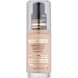 Max Factor Miracle Match make up lichid  cu efect de hidratare culoare 79 Honey Beige 30 ml