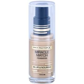 Max Factor Miracle Match Flüssiges Make Up mit feuchtigkeitsspendender Wirkung Farbton 60 Sand 30 ml