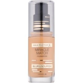 Max Factor Miracle Match Liquid Foundation With Moisturizing Effect Shade 85 Caramel 30 ml