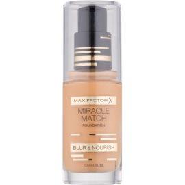 Max Factor Miracle Match make up lichid  cu efect de hidratare culoare 85 Caramel 30 ml