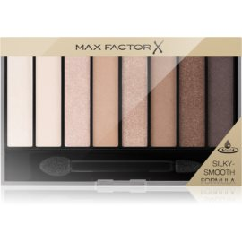 Max Factor Masterpiece Nude Palette paleta cieni do powiek odcień 01 Cappuccino Nudes 6,5 g