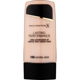 Max Factor Lasting Performance maquillaje fluido de larga duración  tono 106 Natural Beige 35 ml