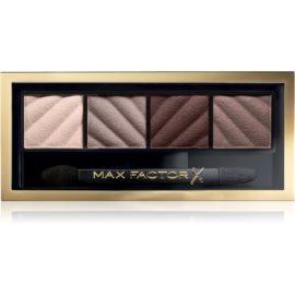 Max Factor Smokey Eye Matte Drama Kit paleta cieni do powiek odcień 30 Smokey Onyx