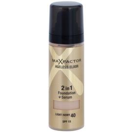 Max Factor Ageless Elixir make up odcień 40 Light Ivory SPF 15  30 ml