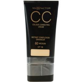 Max Factor Colour Correcting Cream CC krema odtenek 60 Medium SPF 10 30 ml