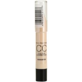 Max Factor CC Colour Corrector korektor przeciw niedoskonałościom skóry odcień 02 Highlighter 3,3 g