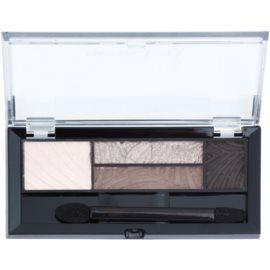 Max Factor Smokey Eye Drama Kit paleta de sombras para ojos y cejas con aplicador tono 01 Opulent Nudes 1,8 g