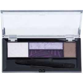 Max Factor Smokey Eye Drama Kit paleta farduri de pleoape si sprancene cu aplicator culoare 04 Luxe Lilacs 1,8 g