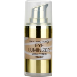 Max Factor Eye Luminizer iluminador para o contorno dos olhos tom Fair/Light 15 ml
