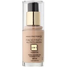 Max Factor Facefinity make-up 3 v 1 odstín 40 Light Ivory  30 ml