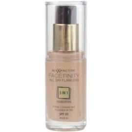 Max Factor Facefinity make-up 3 v 1 odstín 55 Beige SPF20  30 ml