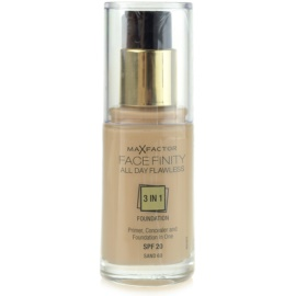 Max Factor Facefinity Foundation 3 in 1 Shade 60 Sand SPF20  30 ml