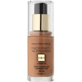 Max Factor Facefinity make-up 3 v 1 odstín 85 Caramel  30 ml
