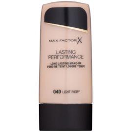Max Factor Lasting Performance dlouhotrvající tekutý make-up odstín 040 Light Ivory 35 ml