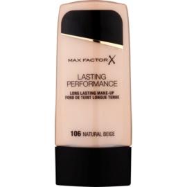 Max Factor Lasting Performance maquillaje fluido de larga duración  tono 106 Natural Beige 35 ml