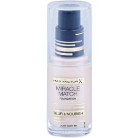 Max Factor Miracle Match make up lichid  cu efect de hidratare culoare 40 Light Ivory 30 ml
