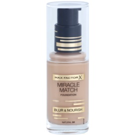 Max Factor Miracle Match make up lichid  cu efect de hidratare culoare 50 Natural 30 ml