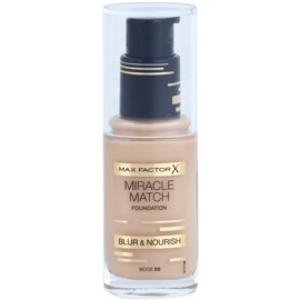 Max Factor Miracle Match Liquid Foundation With Moisturizing Effect Shade 55 Beige 30 ml