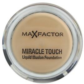Max Factor Miracle Touch fond de teint pour tous types de peau teinte 45 Warm Almond  11,5 g