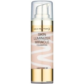 Max Factor Skin Luminizer Miracle make-up pentru luminozitate culoare 40 Light Ivory 30 ml