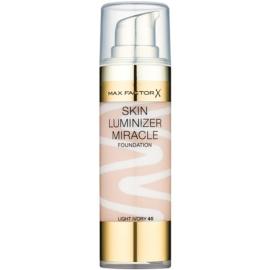 Max Factor Skin Luminizer make-up pentru luminozitate culoare 40 Light Ivory 30 ml