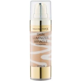Max Factor Skin Luminizer Miracle make-up pentru luminozitate culoare 75 Golden 30 ml