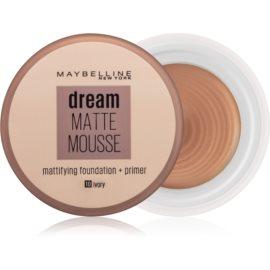 Maybelline Dream Matte Mousse matirajoči tekoči puder odtenek 10 Ivory 18 ml