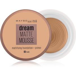 Maybelline Dream Matte Mousse matirajoči tekoči puder odtenek 21 Nude 18 ml
