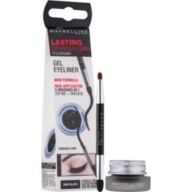 Maybelline Eyeliner Lasting Drama™ delineador de ojos en gel tono 01 Intense Black 2,8 g