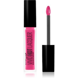 Maybelline Color Sensational Vivid Hot Laquer lesk na pery odtieň 68 Sassy 7,7 ml