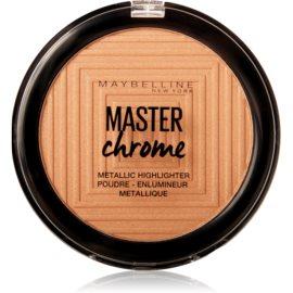 Maybelline Master Chrome iluminador tono 100 Molten Gold 8 g