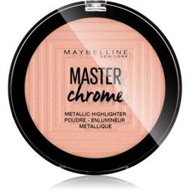Maybelline Master Chrome iluminador tono 05 Molten Rose Gold 8 g