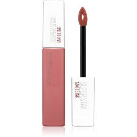 Maybelline SuperStay Matte Ink dlhotrvajúci matný tekutý rúž odtieň 65 Seductress 5 ml