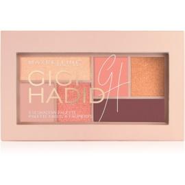 Maybelline Gigi Hadid paleta očních stínů odstín Warm 4 g