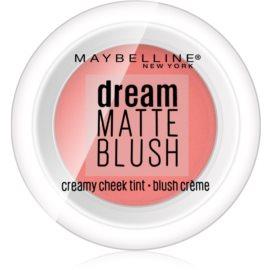 Maybelline Dream Matte Blush mat kremasto rdečilo  odtenek 30 Coy Coral 6 g