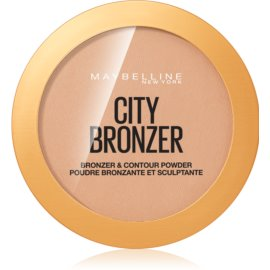 Maybelline City Bronzer pó bronzer e de contorno tom 200 Medium Cool 8 g