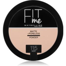 Maybelline Fit Me! Matte+Poreless Matterende Poeder  Tint  115 Ivory 14 gr