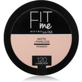 Maybelline Fit Me! Matte+Poreless pudra matuire culoare 120 Classic Ivory 14 g
