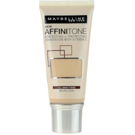 Maybelline Affinitone Hydratisierendes Make Up Farbton 09 Opal Rose 30 ml
