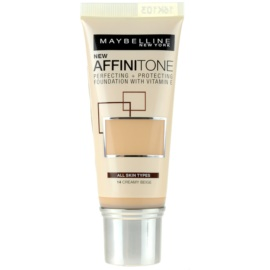 Maybelline Affinitone Hydratisierendes Make Up Farbton 14 Creamy Beige 30 ml