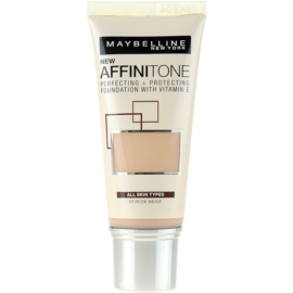 Maybelline Affinitone Hydratisierendes Make Up Farbton 17 Rose Beige 30 ml