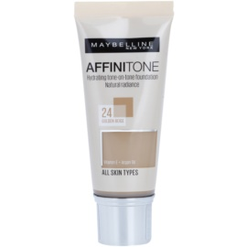 Maybelline Affinitone Hydratisierendes Make Up Farbton 24 Golden Beige 30 ml