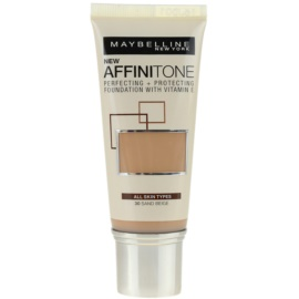 Maybelline Affinitone Hydratisierendes Make Up Farbton 30 Sand Beige 30 ml